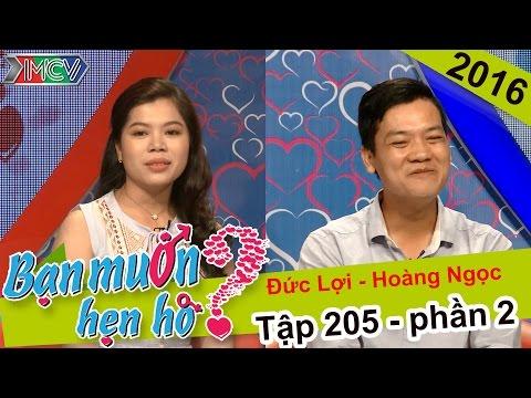 Bạn Muốn Hẹn Hò tập 205 - Cặp đôi 2
