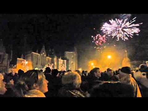 Dornoch Hogmanay Street Party 2012