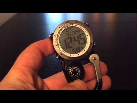 Digital Mini Clip by Dakota Watch Company