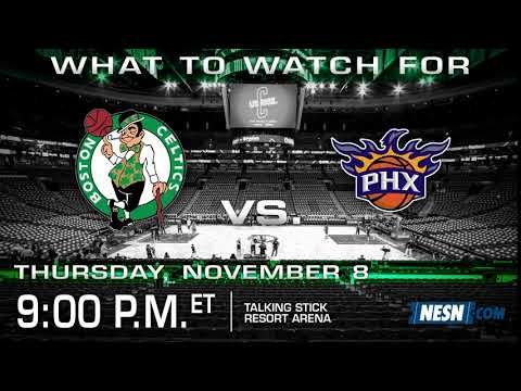 Video: Celtics seek first win on five-game road trip against Suns
