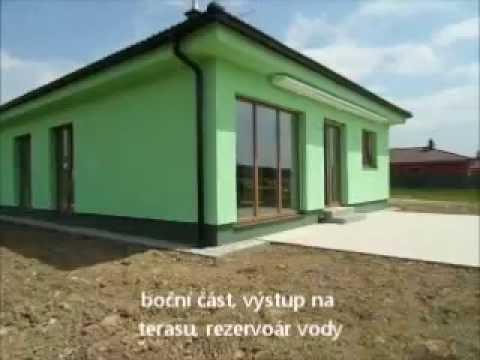 Video Výstavba zděného RD o velikosti 3+kk, Hosín u Č. Budějovic, nízkoenergetická tř. B, 501 m2