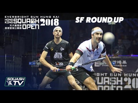 Squash: Men's Semi-Final Roundup - Hong Kong Open 2018