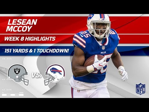 Video: LeSean McCoy's 27 Carries, 151 Yards & 1 TD! | Raiders vs. Bills | Wk 8 Player Highlights
