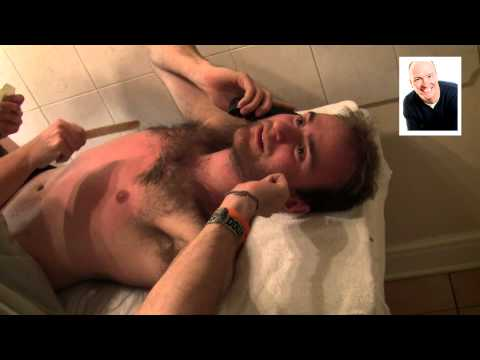 Waxing - Grax Completes his waxing/shaving challenge in aid of Leukaemia and Lymphoma Research. Many thanks to his house-mate for being the cameraman (and seeing a li...