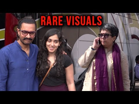 Aamir Khan Spotted With First Wife Reena Dutta And