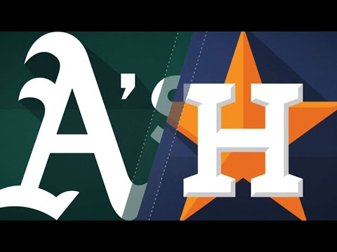 A's rally for 3 in the 8th in a 6-4 victory: 7/12/18