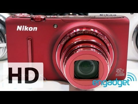 Nikon Coolpix S9500 and S5200 hands-on | Engadget