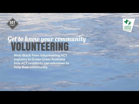 Volunteering in the ACT