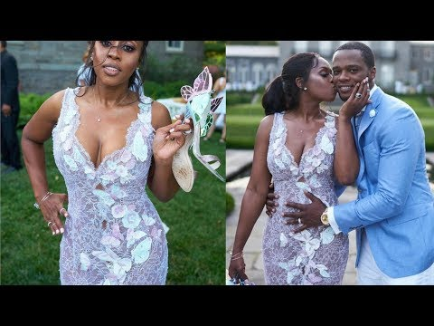 REMY MA Announces PREGNANCY at her WEDDING Renewal + DETAILS on her DIFFICULTY getting Pregnant!