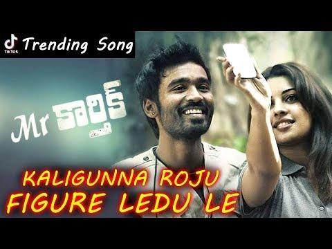 Kaligunna Roju Figure Ledu Le Full Song || Mr.Karthik Movie Full Video Song || #Dhanush