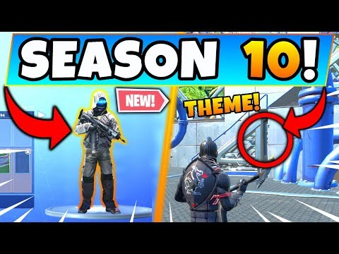 *NEW* SEASON 10 THEME ACCIDENTALLY REVEALED! (Fortnite Season 9 Update!)