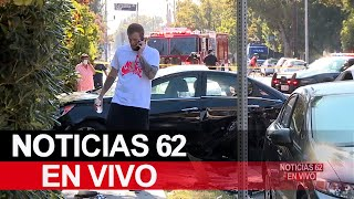 Persecución termina en choque en North Hollywood – Noticias 62 - Thumbnail