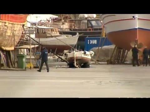 Ηράκλειο: Απομακρύνονται τα εκρητικά του «Ανδρομέδα»