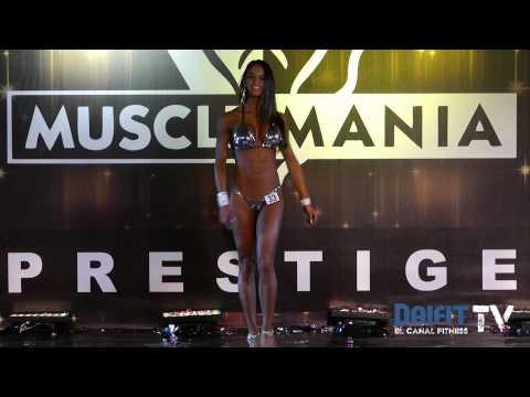 Edna Olivas ganadora absoluta Sport Model Femenil - Musclemania Prestige 2013
