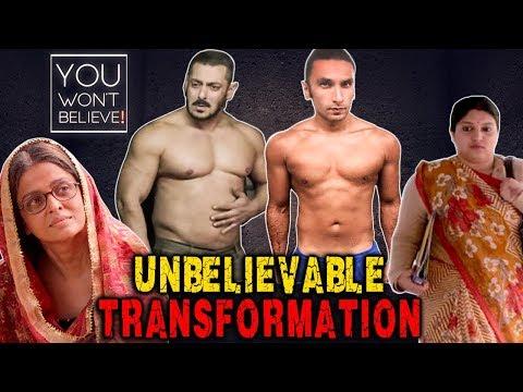 10 SHOCKING Transformation Of Actors You Won't Bel