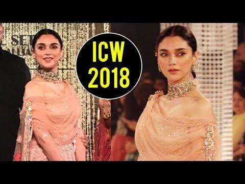 ICW 2018 | Aditi Rao Hydari Looks RAVISHING At Ind