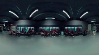 Nike, 360° video ze šatny fotbalistů