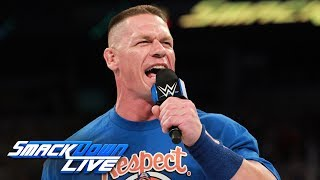 Nonton John Cena's return is interrupted by Rusev: SmackDown LIVE, July 4, 2017 Film Subtitle Indonesia Streaming Movie Download