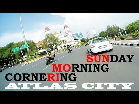 SUNDAY MORNING CORNERING WITH NINJA 250R YAMAHA R25 CB150R