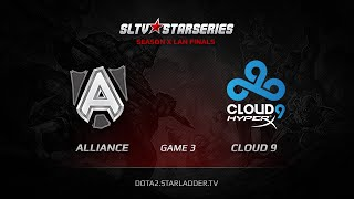 Alliance vs Cloud9, game 3