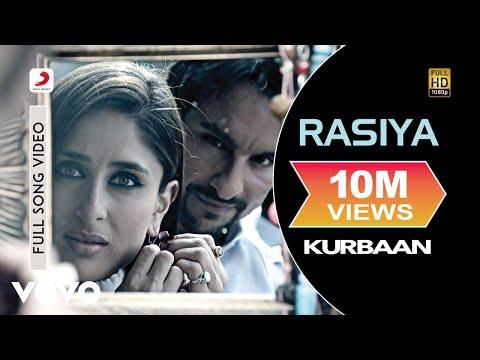 Video Kurbaan - Rasiya   Kareena Kapoor, Saif Ali Khan download in MP3, 3GP, MP4, WEBM, AVI, FLV January 2017