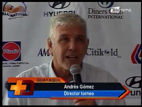 Lanzamiento Guayaquil Bowl de tenis