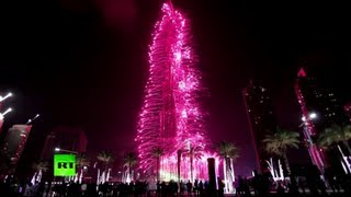 Stunning New Year 2013 fireworks: London, New York, Dubai, Moscow, Taipei