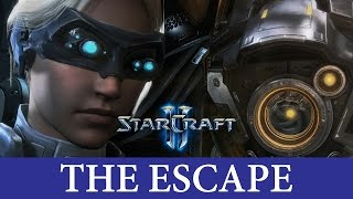 StarCraft 2 Nova Covert Ops Mission 1 - The Escape - No Commentary