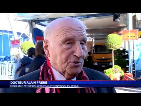 Dr. Alain Frère looks back at the origins of the Circus Festival