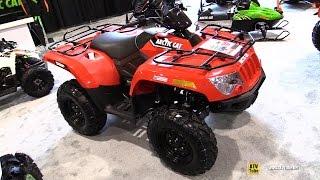 8. 2016 Arctic Cat 500 EFI Recreational ATV - Walkaround - 2015 St Hyacinthe ATV Show