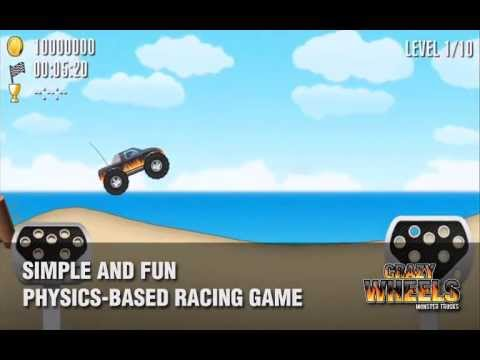 Video of Crazy Wheels: Monster Trucks
