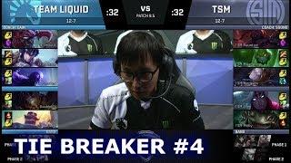 Video Team Liquid vs TSM - Tie Breaker #4 | S8 NA LCS Spring 2018 | TL vs TSM W9D2 Tie MP3, 3GP, MP4, WEBM, AVI, FLV Juli 2018