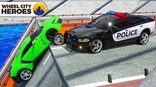 Video Police Car Sergeant Lucas Rescuing Sport Car who Felt into Water - Wheel City Heroes (WCH) Cartoon MP3, 3GP, MP4, WEBM, AVI, FLV Oktober 2018