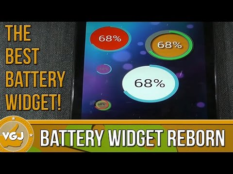 Video of Battery Widget Reborn