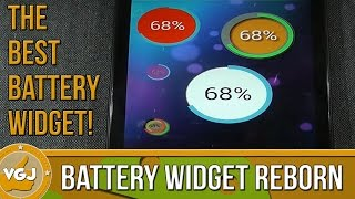 Battery Widget Reborn YouTube video