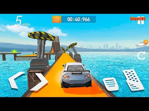 Car Stunt Races: Mega Ramps #4 – Best Android Gameplay By Silent102