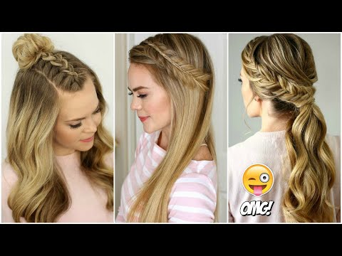 PEINADOS TUMBLR FÁCILES PARA CABELLO LARGO 2019  #1 Cute Hairstyles