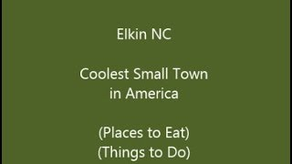 Jonesville (NC) United States  City new picture : Elkin NC,