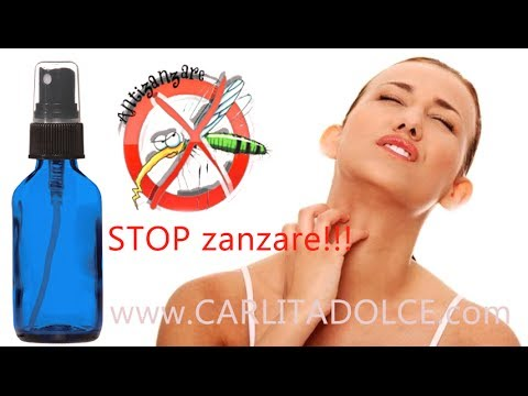come preparare un repellente spray anti zanzare in modo naturale!