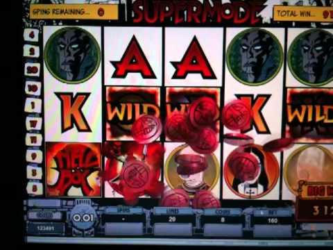5 x Wild on Hellboy Slot Machine