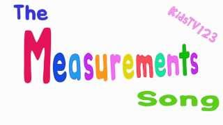 The Measurements Song (British Spelling)