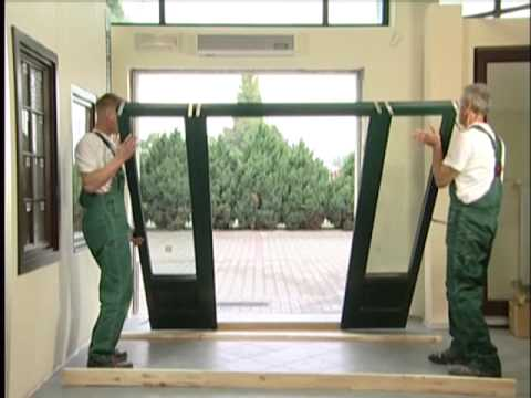 Montaż drzwi zewnętrznych z naświetlami