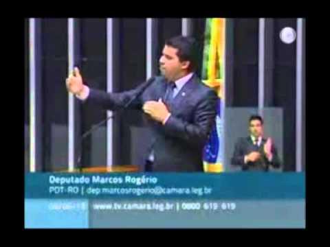 Dep. Marcos Rogério questiona Lei da Palmada no STF