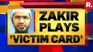"Zakir Naik Writes To Interpol Claiming - ""I'm Targeted Because I'm A Muslim"""