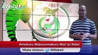 Ku wa Gatandatu itariki 4 Ruheshi 2016 tuzoganira hamwe ku makuru makurumakuru yaraze iyi ndwi yo kuva itariki 30 Rusama 2016 gushika itariki 4 Ruheshi 2016....