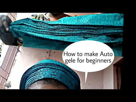 How To Make Auto Gele
