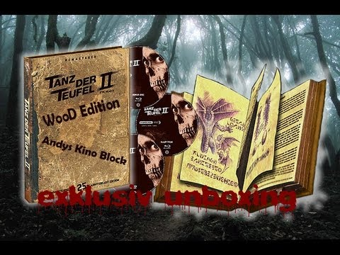 Tanz der Teufel 2 - Uncut Limited Extended Wood Edition Blu-ray unboxing