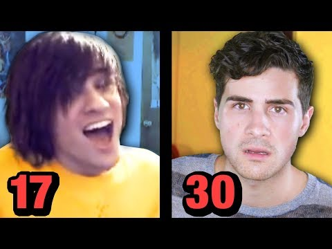17 vs 30 years old (on youtube)