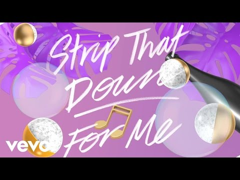 Strip That Down Lyric Video [Feat. Quavo]