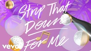Liam Payne  Strip That Down Lyric Video Ft Quavo